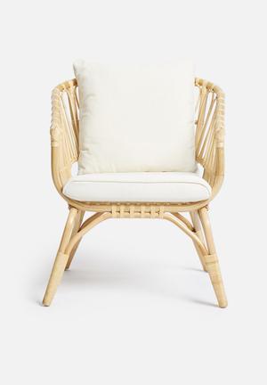 Toba rattan arm chair - natural