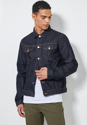 San Fran denim trucker jacket - blue