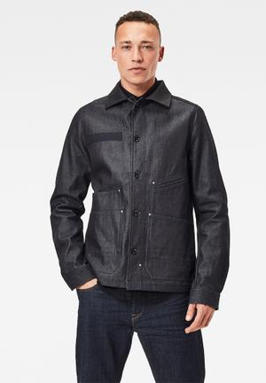 Worker overshirt - navy