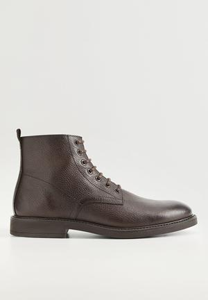 Ankle boots bombeado - brown