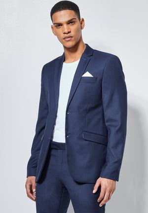 Soho slim fit  blazer - navy