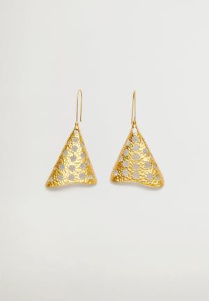 Skiya earrings  - gold