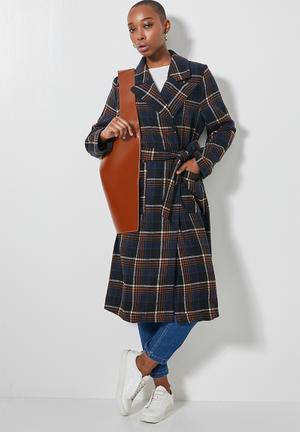 Belted coat - multi