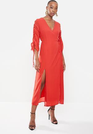 Viola dress - red