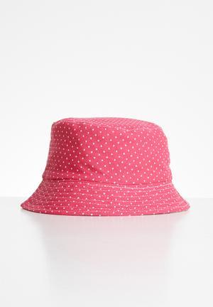 Girls bucket hat - pink