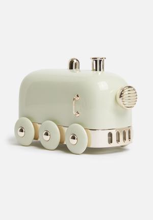 Steam train humidifier - mint
