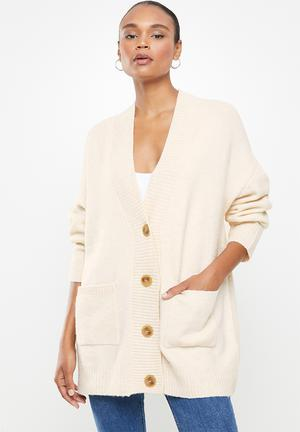 Cardigan taldora - light beige