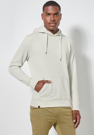 Maddox pullover hoodie - ecru