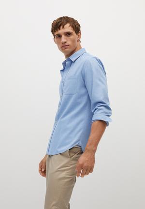 Twill shirt - blue