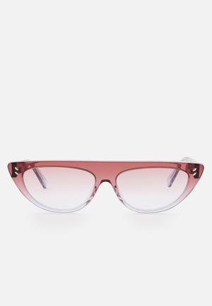 Bio acetate sunglasses - brown & grey