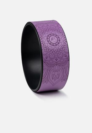 Yoga wheel up - purple