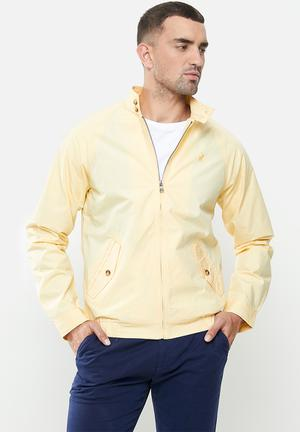Colton harrington jacket - yellow