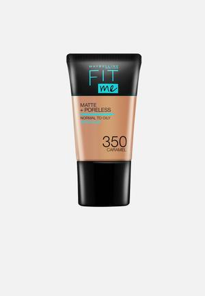 Fit Me® Matte + Poreless Foundation Mini - 350 Caramel