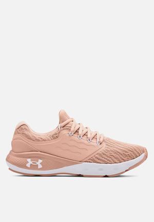 Ua w charged vantage - particle pink / particle pink / white