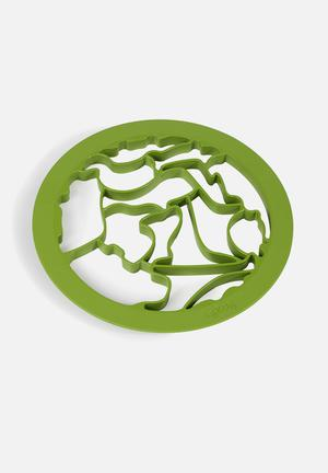 Animal cookie cutter - lime