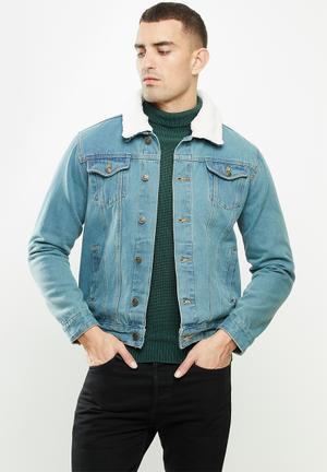 Larson jacket - light blue