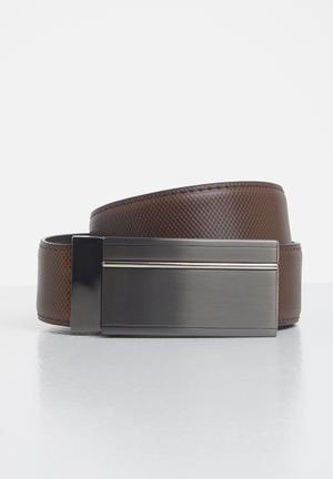 Arialian reversible belt - brown