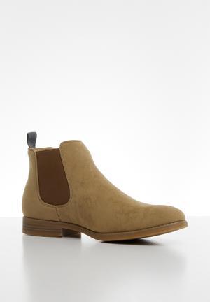 Luka chelsea boot - stone