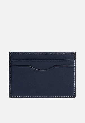 Card holder twofaces - blue