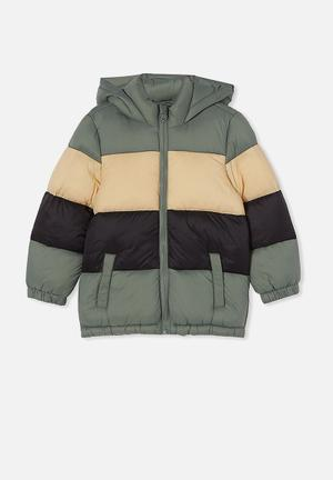 Frankie puffer jacket - multi