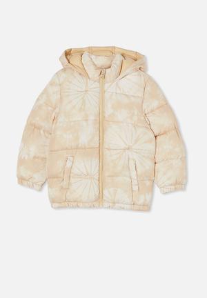 Frankie puffer jacket - beige