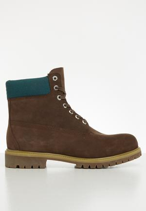 6 inch premium boot - brown