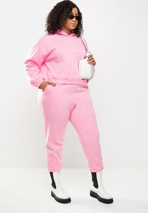 Slouchy jogger- Pink