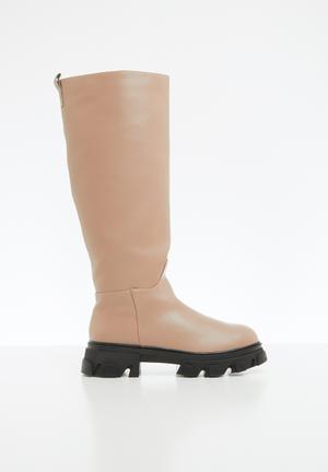 Sophia track sole boot - neutral