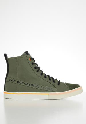 S-dvelows ml sneakers - military green/orange