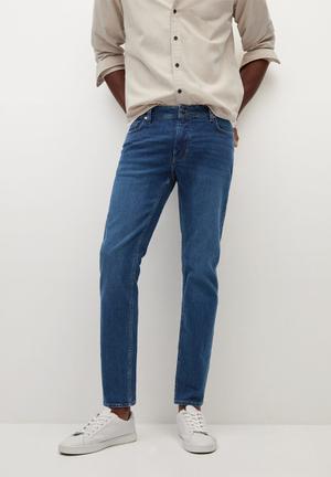 Jeans jan - dark blue