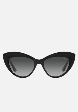 Vogue cat eye sunglasses - black