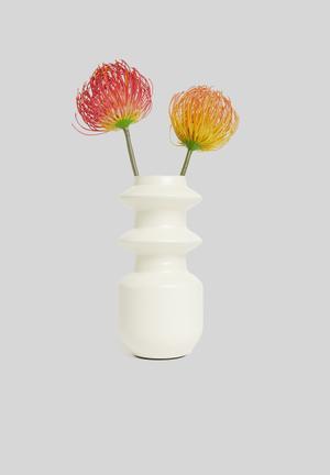Ryker vase - cream