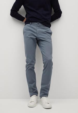 Trousers barna - blue