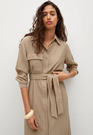 Dress nina - light beige