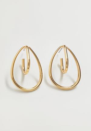 Helena earrings - gold
