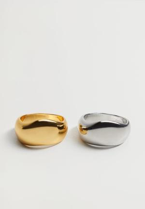 Ring tif - gold & silver