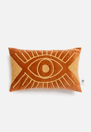 Protective cushion cover - rust