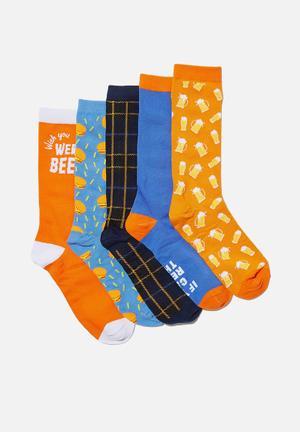 Box of socks - multi