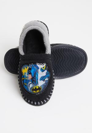 Batman slippers - black