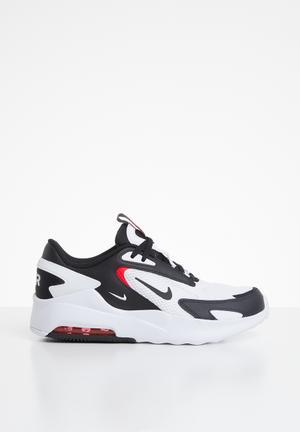Nike air max bolt - white & black