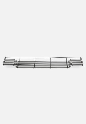 Iron bath rack - matte black