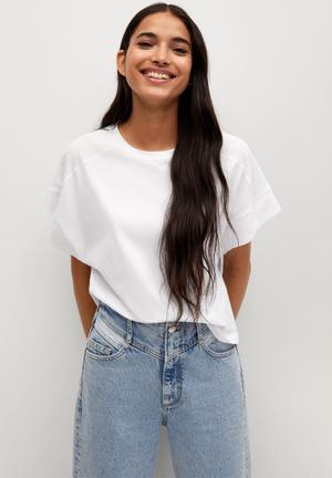 T-shirt miley - white