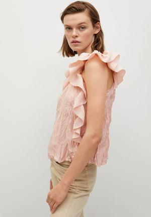 Blouse costa - light pastel pink