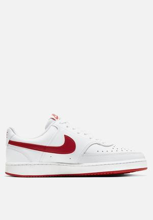 Court Vision lo - white/university red