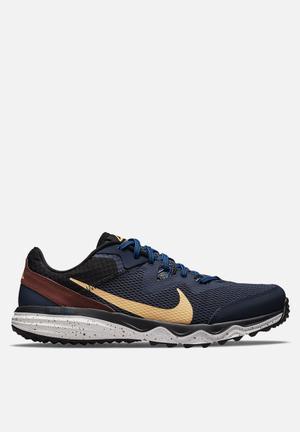 Nike juniper trail - thunder blue/melon tint-dark pony-black