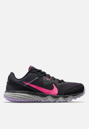 Nike juniper trail - black/hyper pink-cave purple-lilac