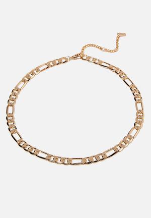 Premium forever necklace - gold