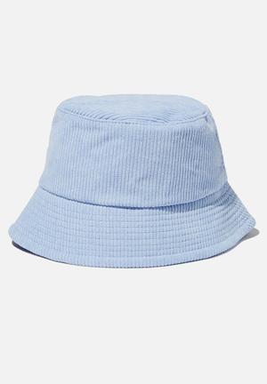 Kids bucket hat - sky haze cord