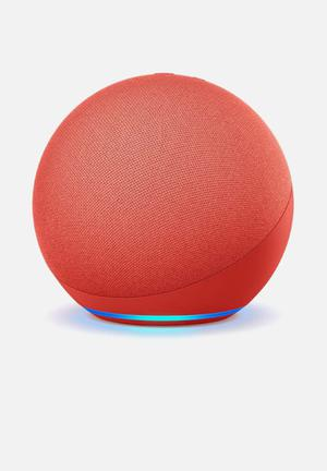 Echo dot 4th gen - red limited edition