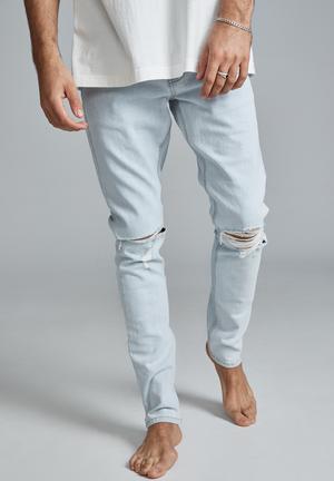 Super skinny jean - light blue